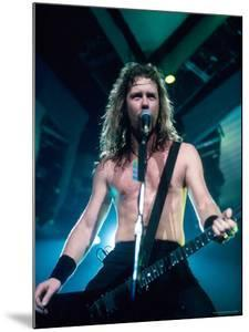 James Hetfield, Lead Singer of Metallica, Performing by Kevin Winter