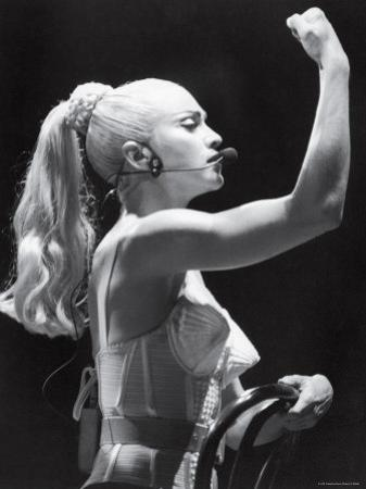 Madonna in Concert During Her Blonde Ambition Tour