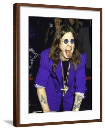 Rock Musician Ozzy Osbourne