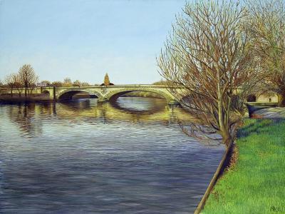 Kew Bridge, 1993-Isabel Hutchison-Giclee Print