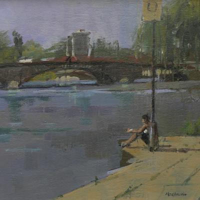 Kew Bridge, 2009-Pat Maclaurin-Giclee Print