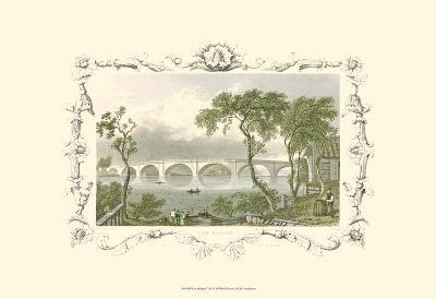 Kew Bridge-William Tombleson-Art Print