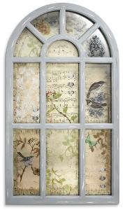 Kew Gardens Antiqued Wall Mirror