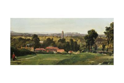 Kew Gardens from Richmond Hill-Richard H. Hilditch-Giclee Print