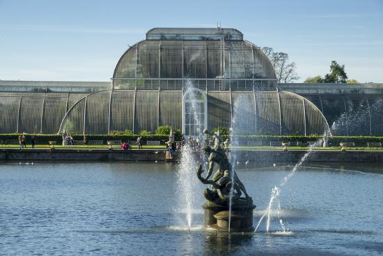 Kew Palm House-Charles Bowman-Photographic Print