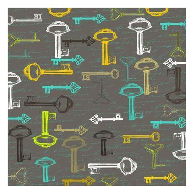 Key Of Love-Sheldon Lewis-Art Print