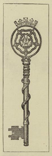 Key to the Hospital of St Cross--Giclee Print