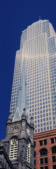 Key Tower on Public Square, Cleveland, Ohio, USA--Photographic Print