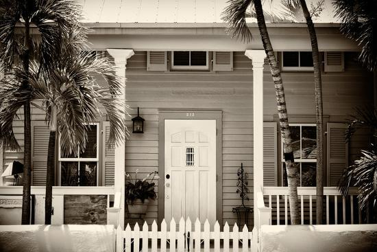 Key West Architecture - Heritage Structures in Old Town Key West - Florida-Philippe Hugonnard-Photographic Print