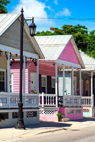 Key West Architecture - The Pink House - Florida-Philippe Hugonnard-Photographic Print