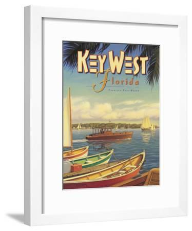 Key West Florida-Kerne Erickson-Framed Giclee Print
