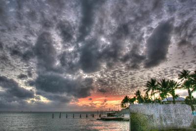 Key West Sunset IX-Robert Goldwitz-Photographic Print