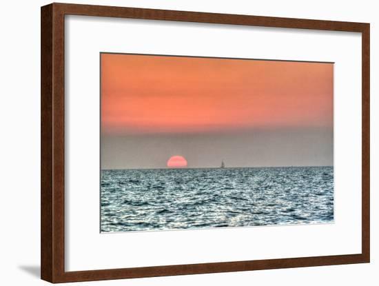 Key West Sunset X-Robert Goldwitz-Framed Photographic Print