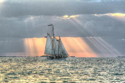 Key West Sunset XV-Robert Goldwitz-Photographic Print
