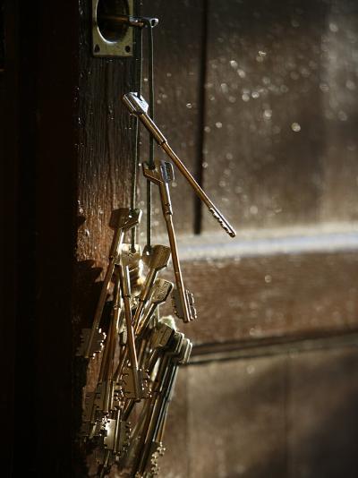 Keys, San Vivaldo, Tuscany, Italy, Europe-Godong-Photographic Print