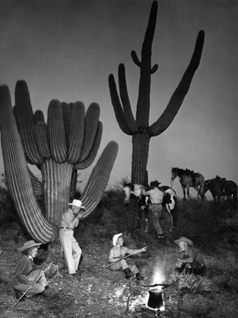 Camping Cowpokes by Keystone