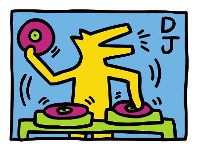 KH07-Keith Haring-Art Print