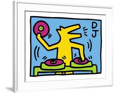 KH07-Keith Haring-Framed Art Print