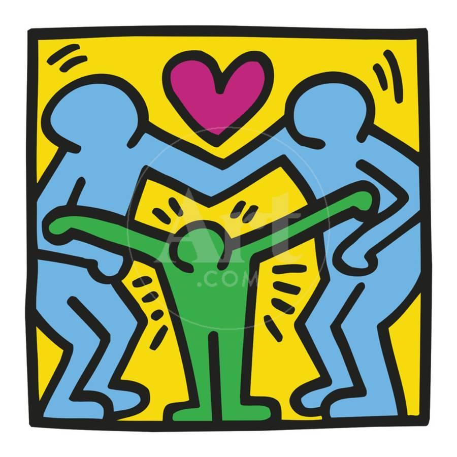 KH11 Art Print by Keith Haring | Art.com