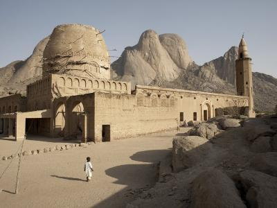 Khatmiyah Mosque at the Base of Taka Mountain, Kassala, Sudan, Africa-Mcconnell Andrew-Photographic Print