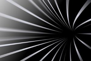 Abstract Line Black And White Background by Kheat