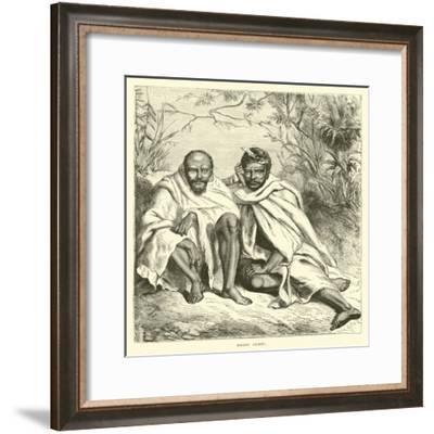 Khond Chiefs--Framed Giclee Print