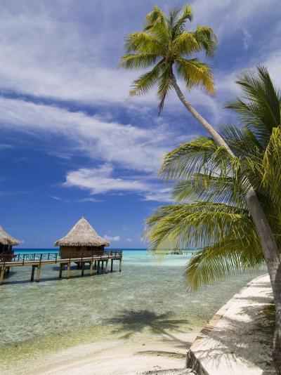 Kia Ora Resort, Rangiroa, Tuamotu Archipelago, French Polynesia Islands-Sergio Pitamitz-Photographic Print