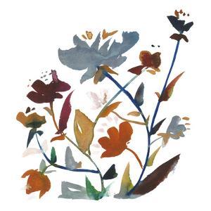 Nouveau Boheme - Folk Art Series No. 3 by Kiana Mosley