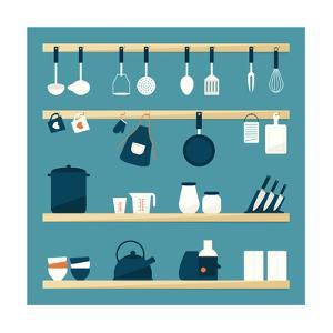 Kitchen Utensils by kibsri