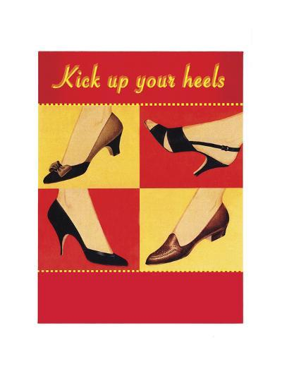 Kick Your Heels-Tim Wright-Giclee Print