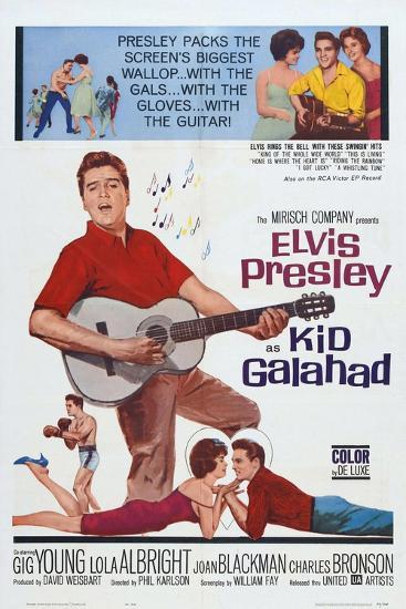 Kid Galahad, 1962, Directed by Phil Karlson--Giclee Print
