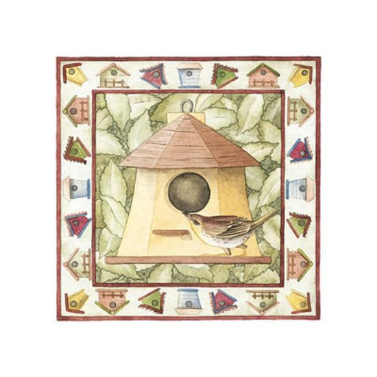 Kids Birdhouses--Art Print