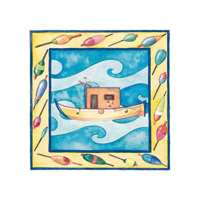 Kids Boats--Art Print