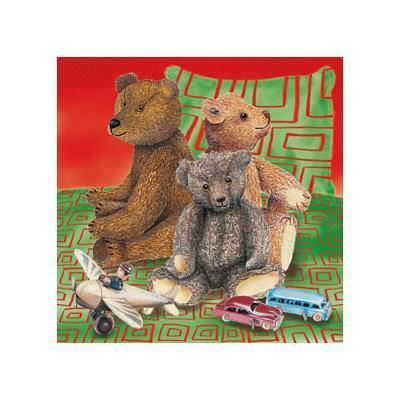 Kids Teddy Bears II--Art Print
