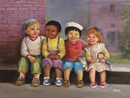 Kids-Dianne Dengel-Giclee Print