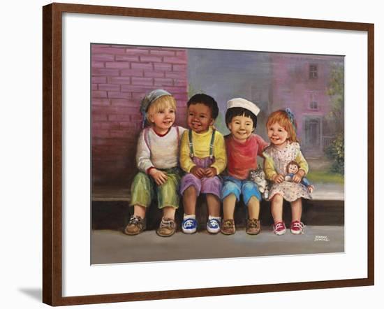 Kids-Dianne Dengel-Framed Giclee Print