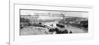 Kiel Canal WWI-Robert Hunt-Framed Photographic Print