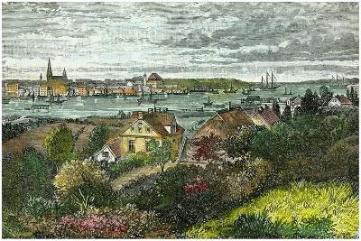 Kiel, Germany, C1875-Carrera-Giclee Print