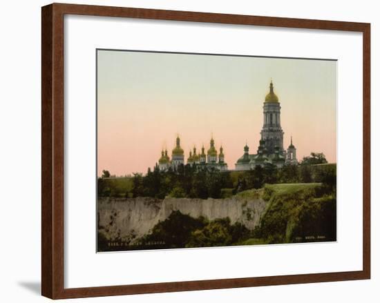 Kiev Pechersk Lavra, 1890S--Framed Giclee Print