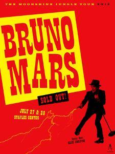 Bruno Mars 2013 by Kii Arens