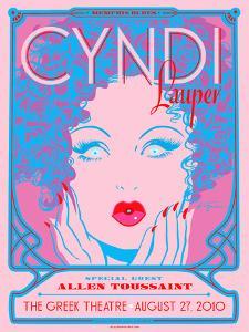 Cyndi Lauper by Kii Arens