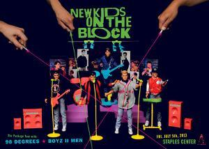 New Kids On The Block by Kii Arens