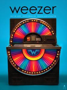 Weezer Costa Mesa 2013 by Kii Arens