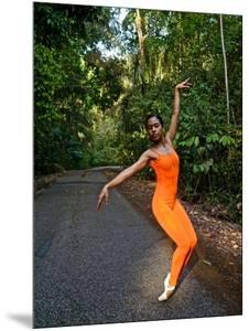 A Classical Ballerina From The National Ballet Of Panama by Kike Calvo