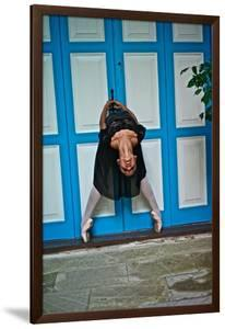 A Classical Ballerina In The Colonial Streets Of Old Havana by Kike Calvo