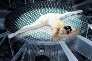 A Dancer Of The National Ballet In Splits by Kike Calvo