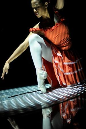 A Dancer Of The National Ballet Of Panama Balancing by Kike Calvo