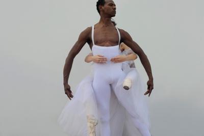 Ballet Dancers Posing by Kike Calvo