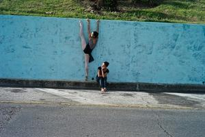 Classical Ballet In The Colonial Streets Of Old Havana by Kike Calvo