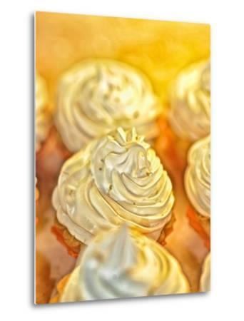 Close Up of Cream Pastries by Kike Calvo